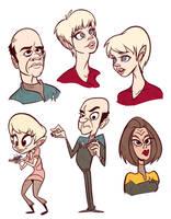 Voyager Doodles by l3xilos