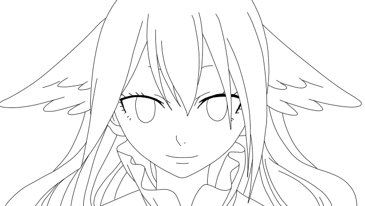 Mavis vermillion outline by shokoramomo