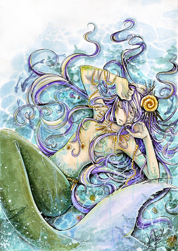 Blue water by Kaoruyagi