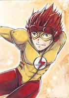 Kid Flash by Kaoruyagi