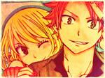 Natsu and Lucy HOT. (Repost)