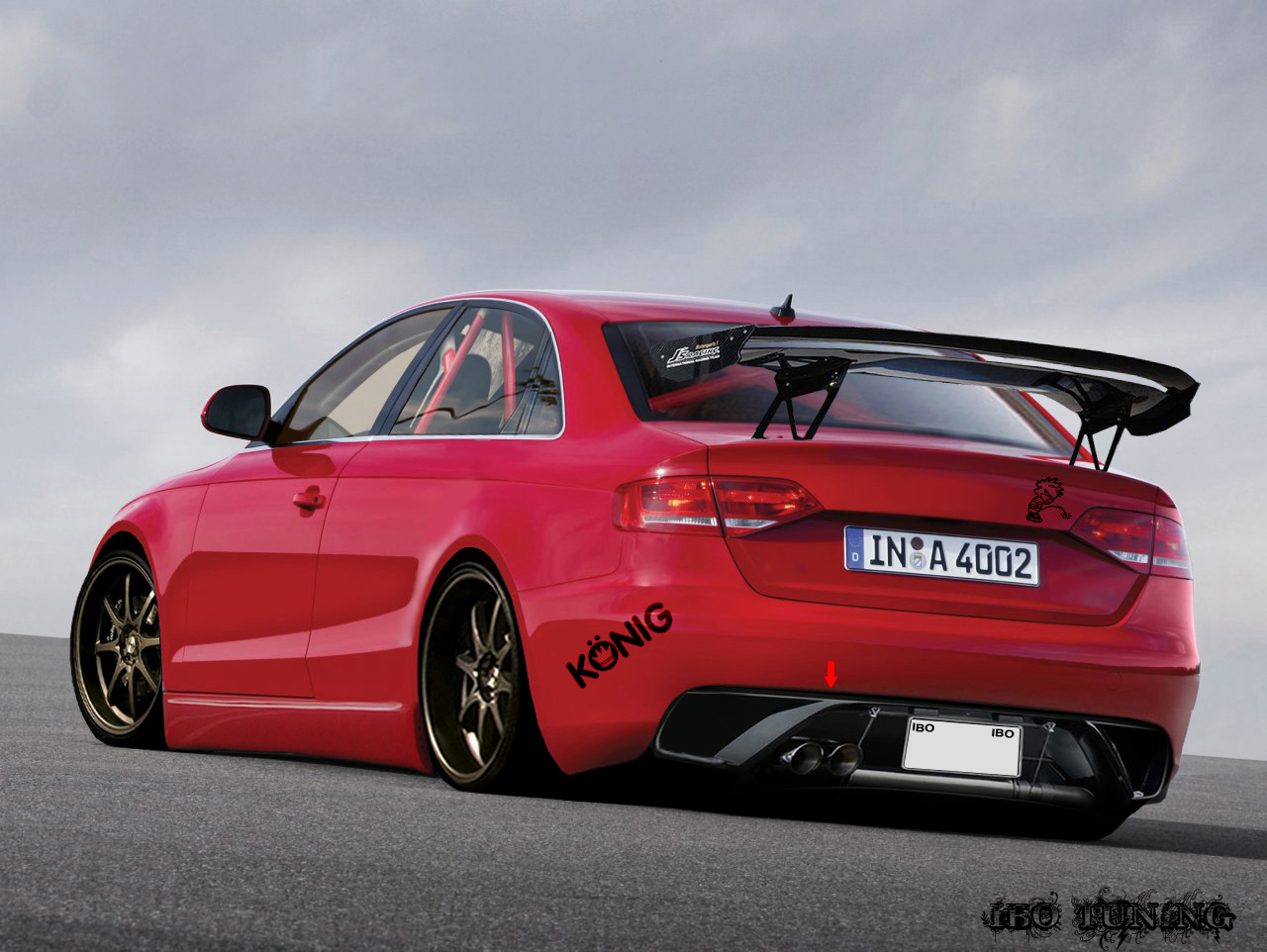 Audi A4 Tuning By Turkiye2009 On Deviantart