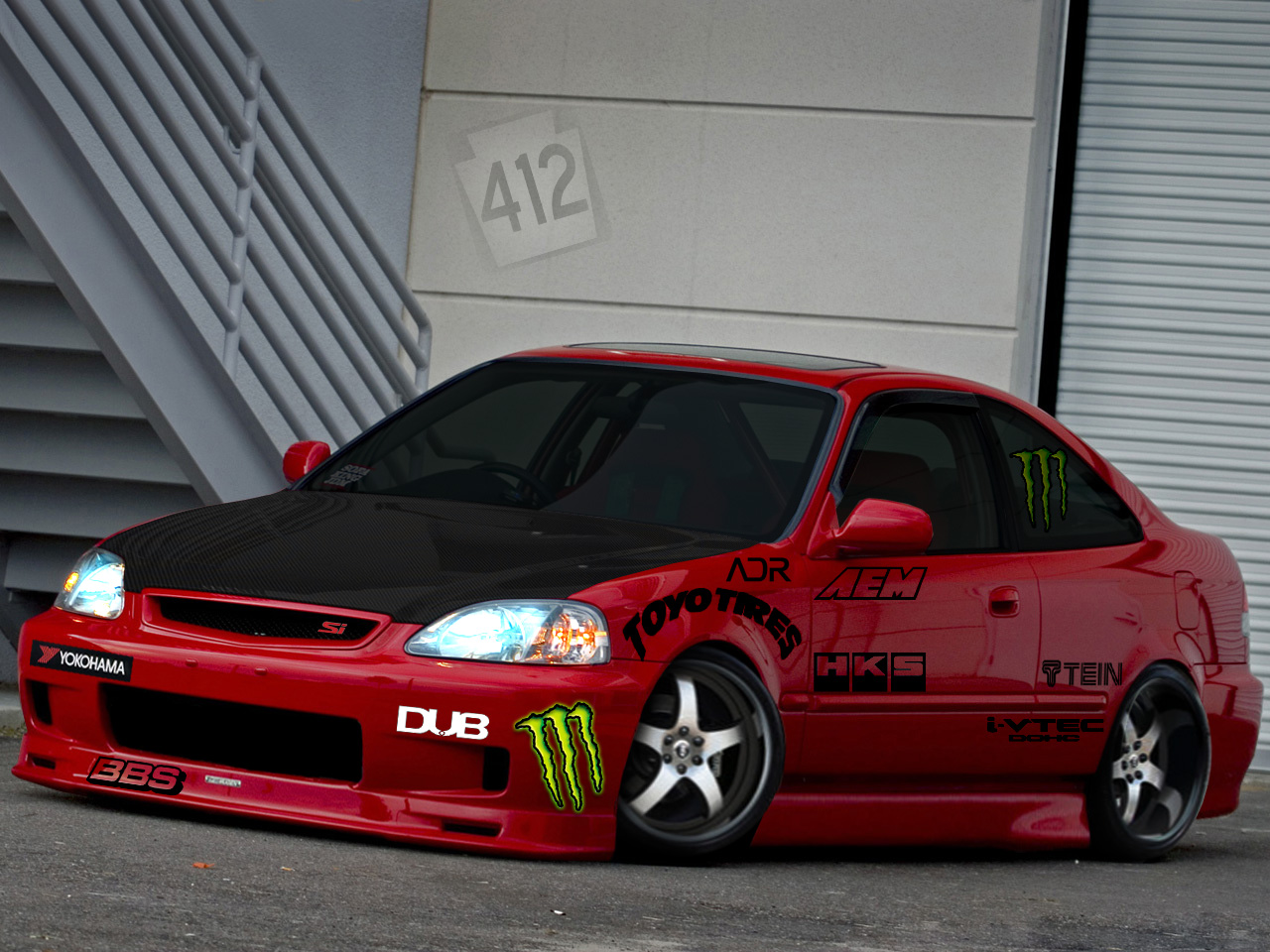 intPart: Honda civic, post 17