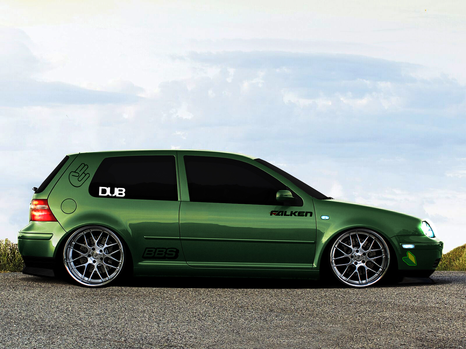 volkswagen golf tuning by turkiye2009 on deviantart. Black Bedroom Furniture Sets. Home Design Ideas