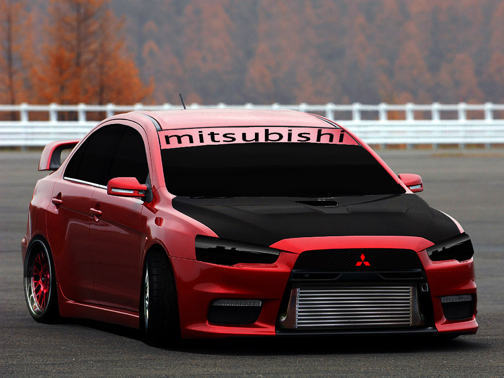 Mitsubishi EVO Tuning by turkiye2009 on DeviantArt