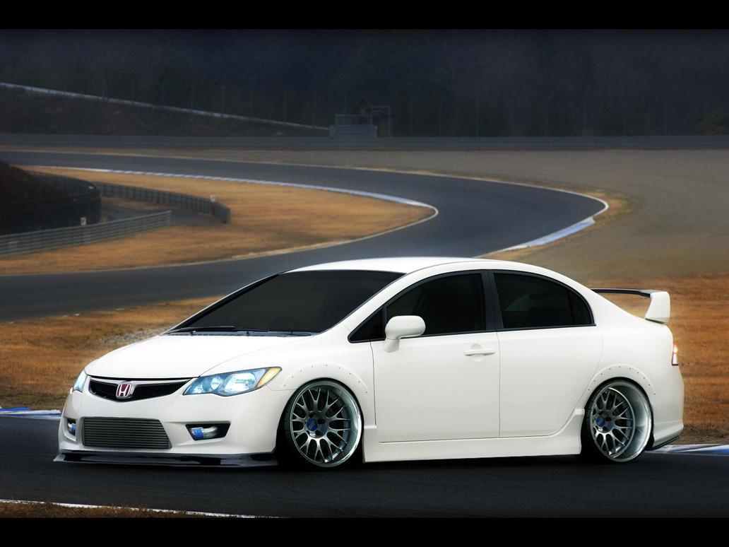 honda civic type r sedan by turkiye2009 on deviantart. Black Bedroom Furniture Sets. Home Design Ideas