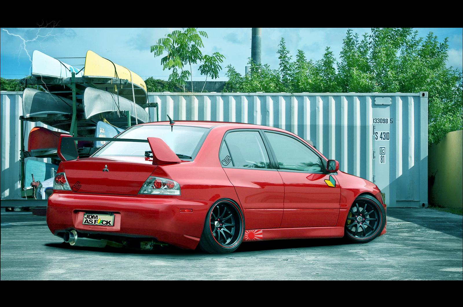 Mitsubishi Evo :Evolution by