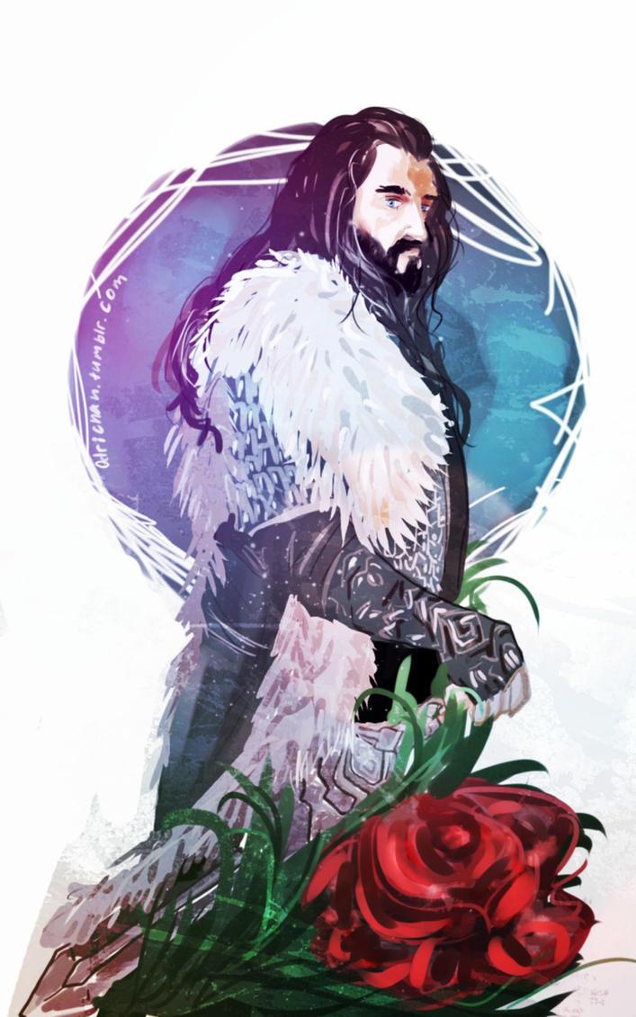 Thorin Oakenshield by Odrichan