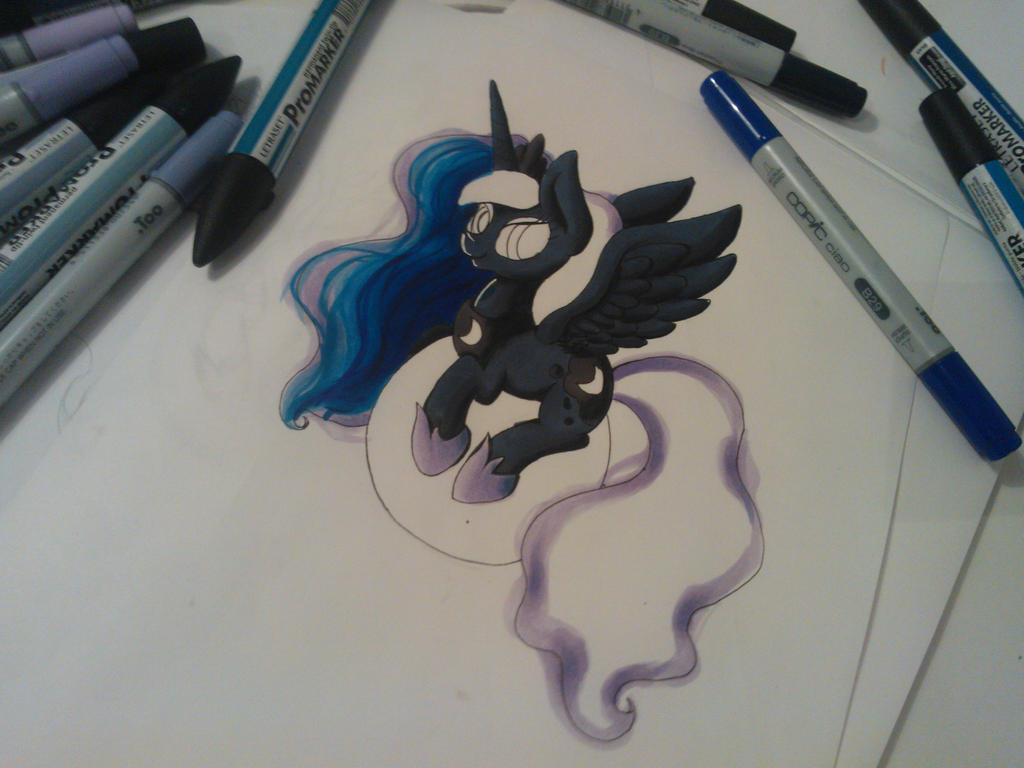 [WIP] Luna by PumpkinKikile