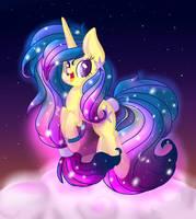 Rainbow power Velvet Star by PumpkinKikile