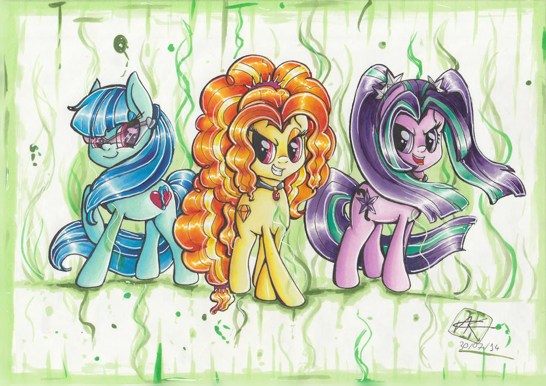 The Dazzlings by PumpkinKikile