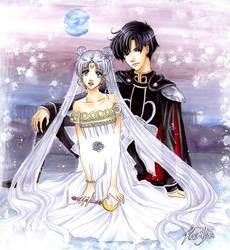 Princess Serenity by Kai-Yan
