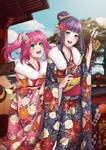 Aqours - Kurosawa Sisters - Hatsumode