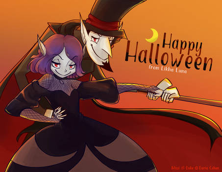Happy Halloween 2017! ft. Missi and Duke