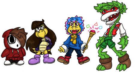 Super Mario squad by ShirleyVaga