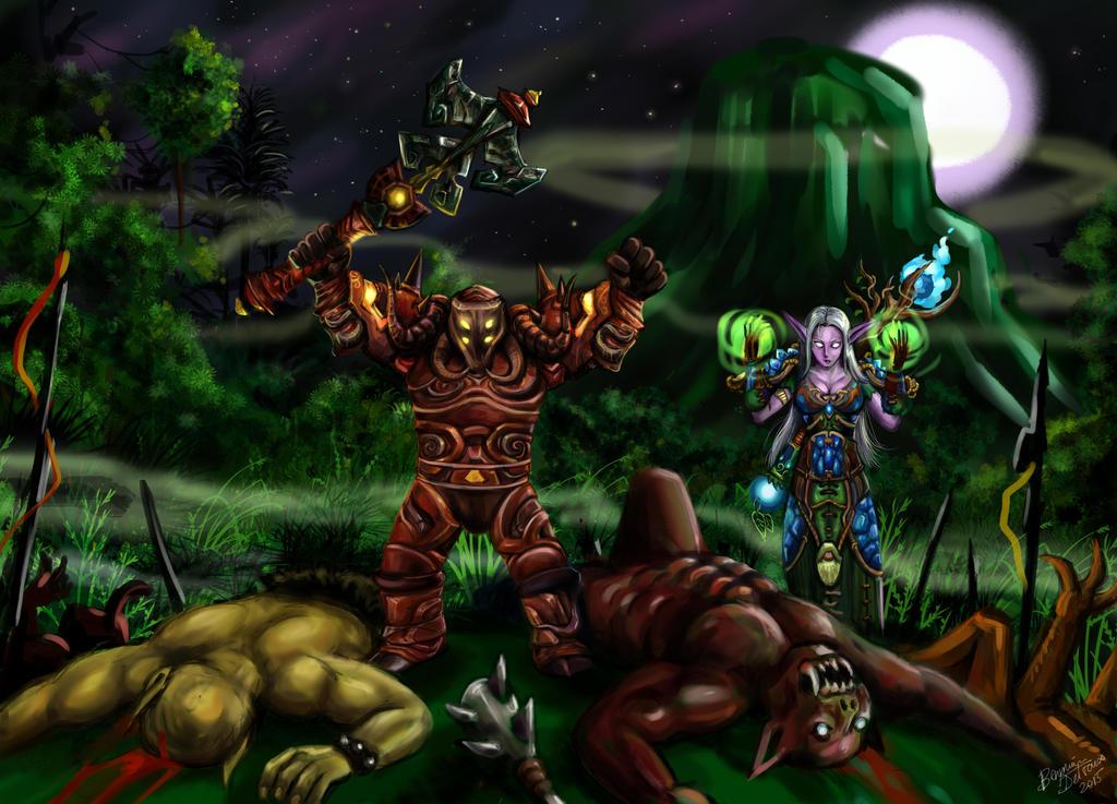 Dwarf's victory by king-ghidorah
