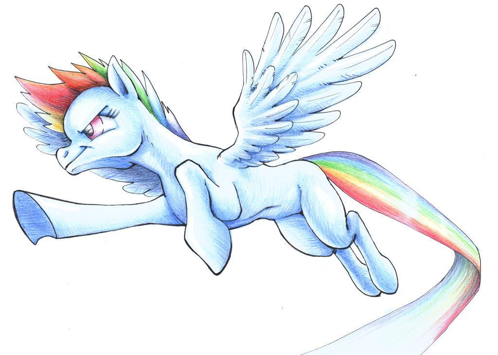 Rainbow Dash by king-ghidorah