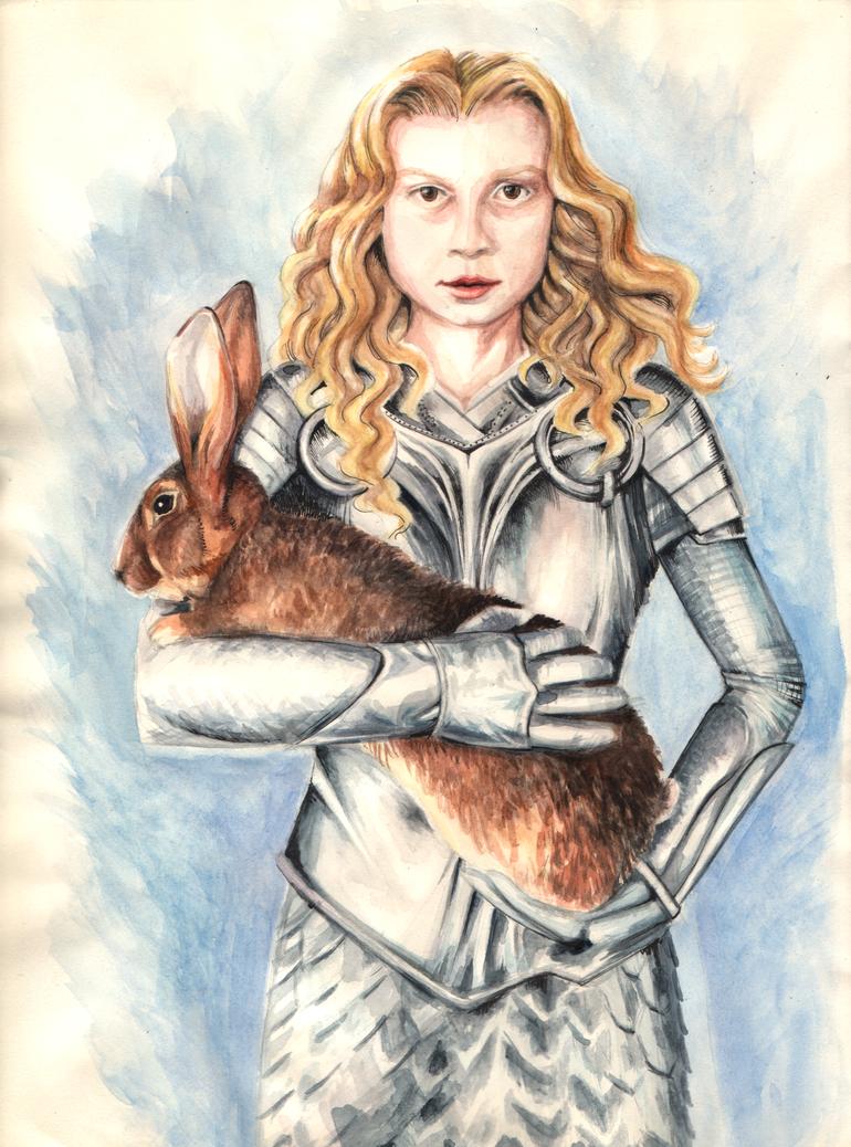 Alice portrait by king-ghidorah