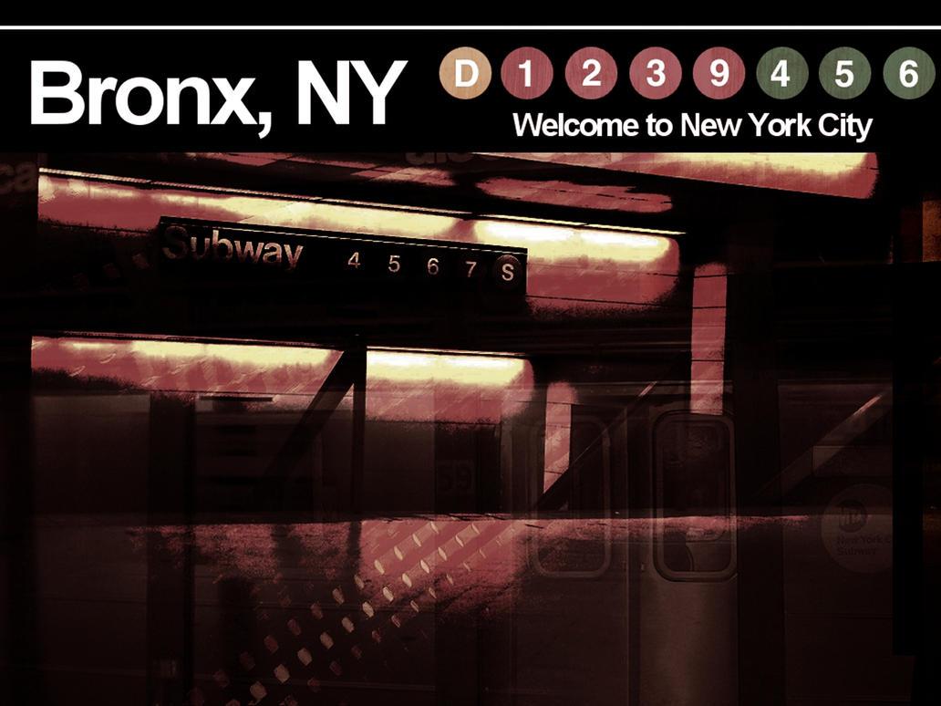 Bronx Nyc Subway Signs By Wanabevryting On Deviantart