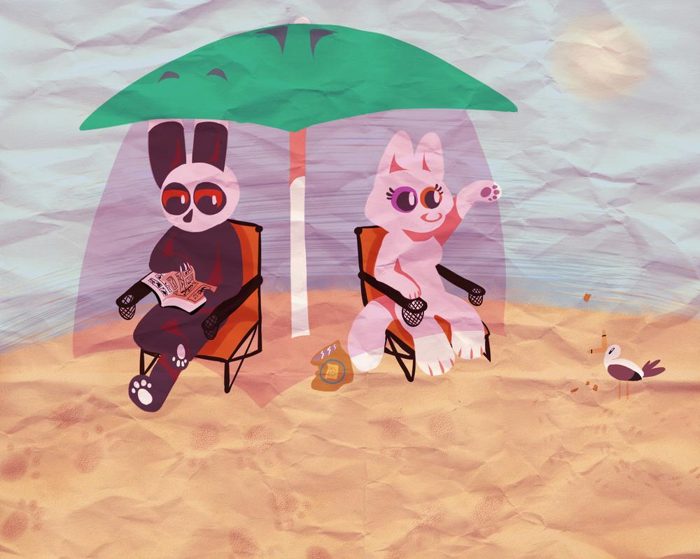 Beach 2014 by lazy-procrastinator