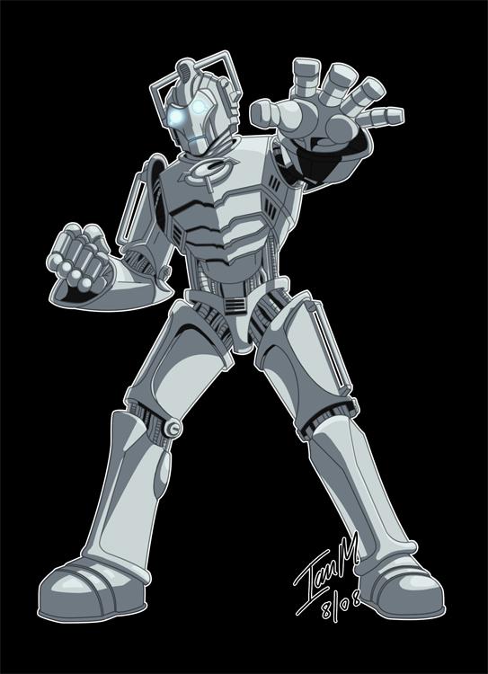 Dr Whoodles - Cyberman by Alienweirdo