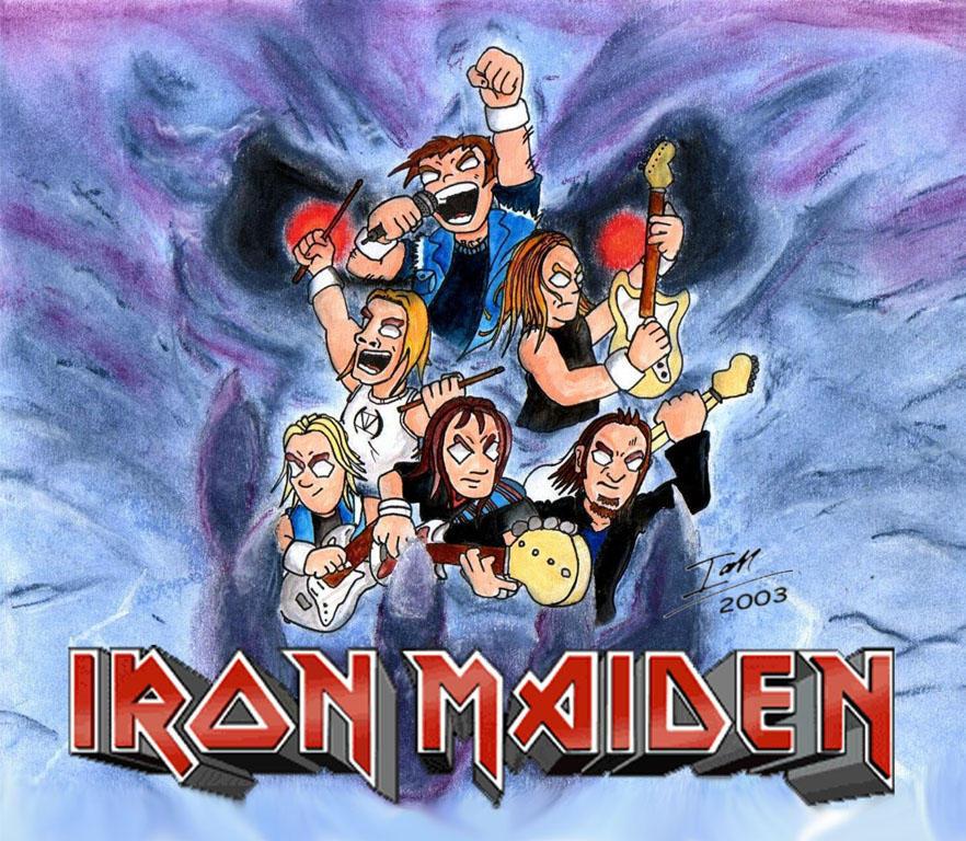 Wallpaper Iphone Iron Maiden: Brave New World By Alienweirdo On DeviantArt
