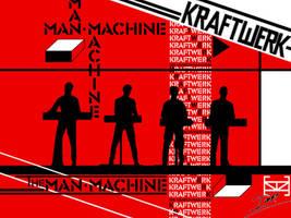 Kraftwerk - The Man Machine by Alienweirdo