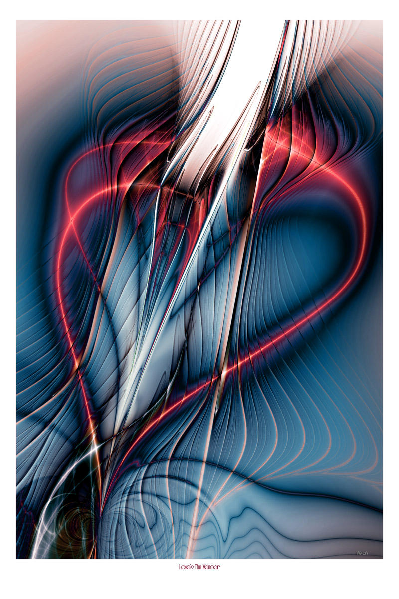 Love's Thin Veneer by onebadpenny