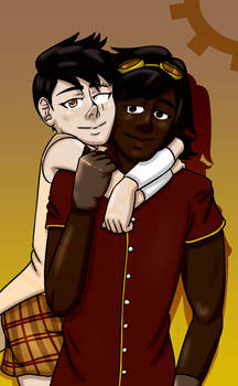 Hara and Clarise Buddy Hug