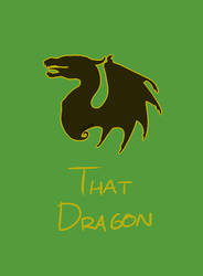 That Dragon Cover by datisghost