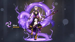[Genshin Impact Oc]Alva Splash Art
