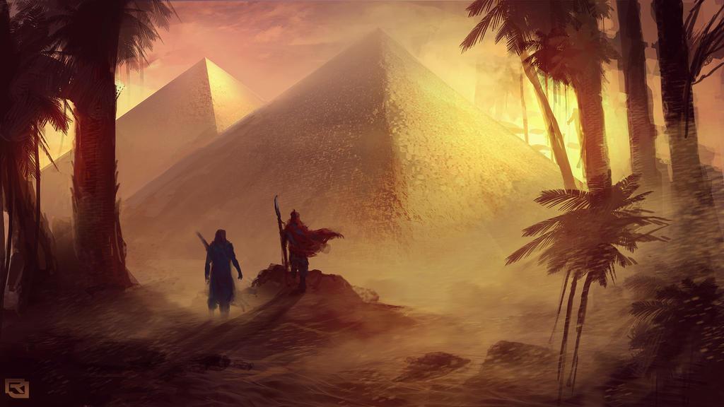 Pyramid speed painting by Rob-Joseph