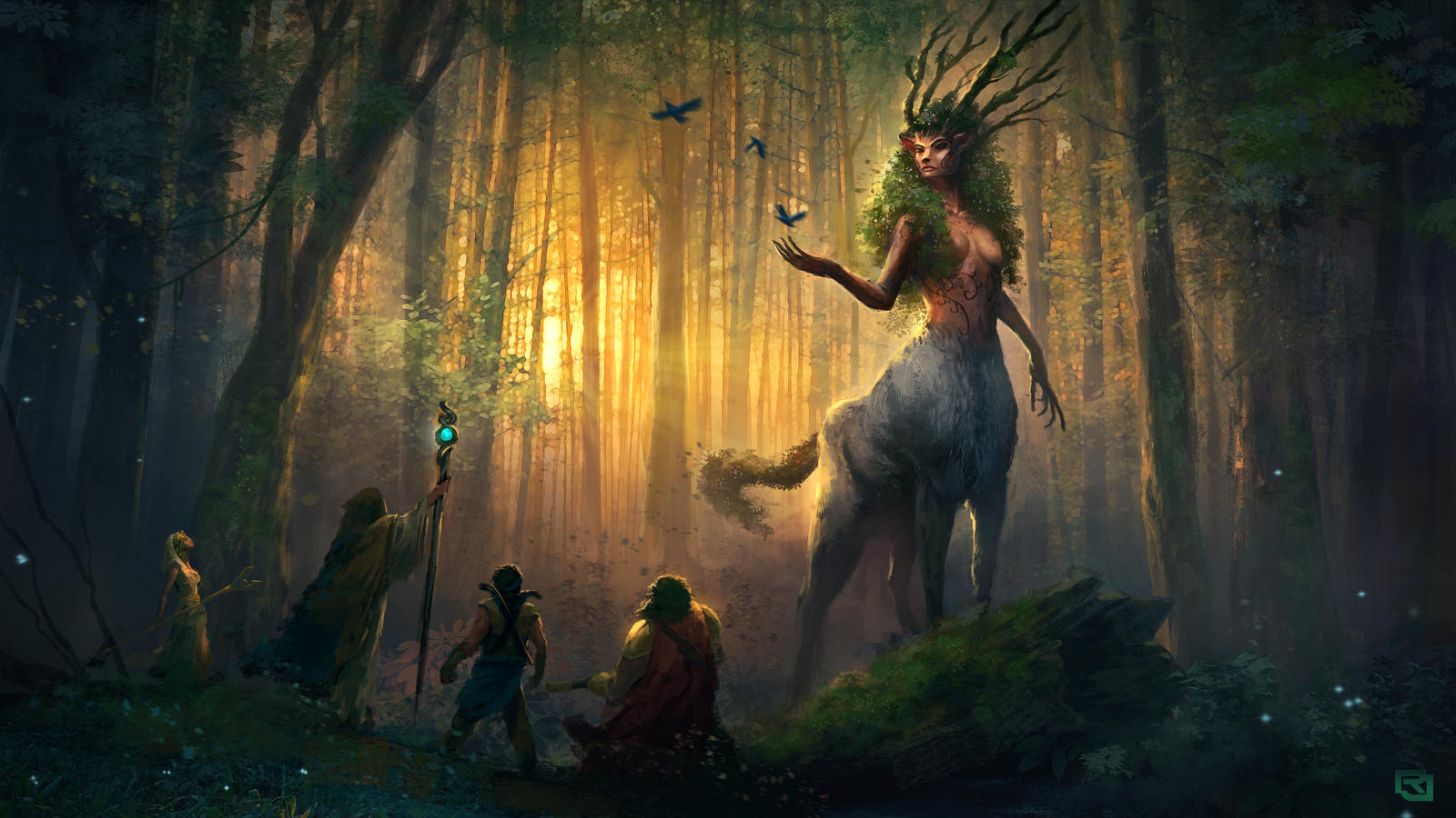 Spirit of The Forest by Rob-Joseph