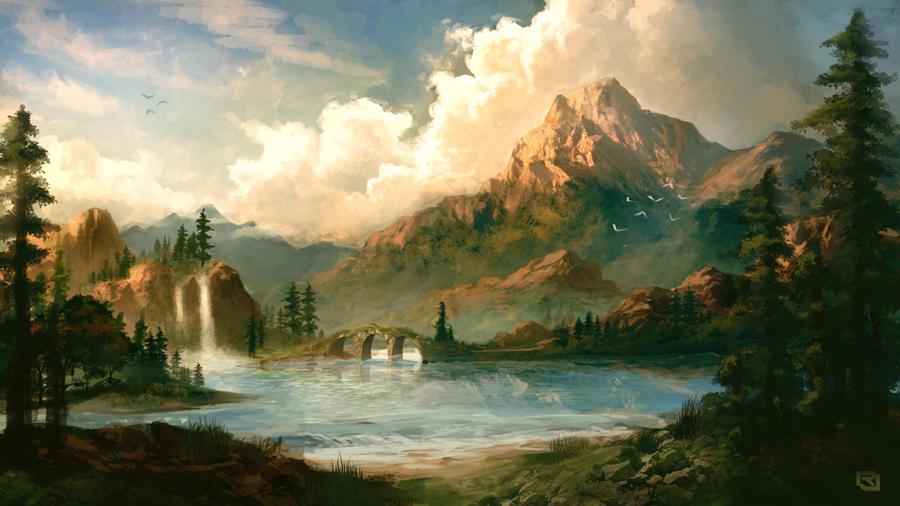 Mountains of Bolvero by Rob-Joseph