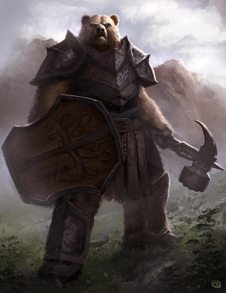 Bear Warrior by Rob-Joseph