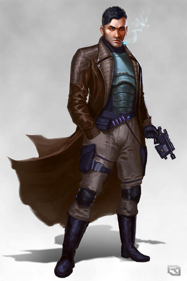 Smuggler Concept By Rob Joseph On Deviantart
