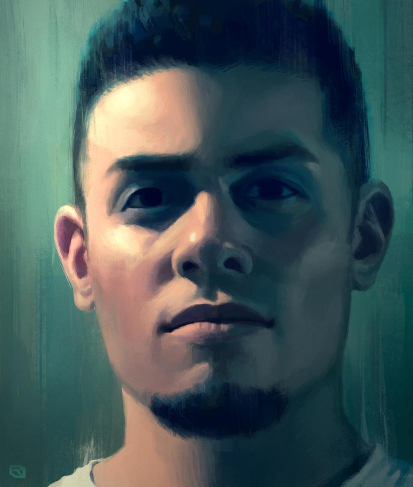 Self Portrait by Rob-Joseph