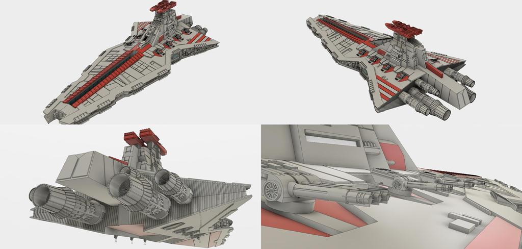 Venator Class Star Destroyer by 531st