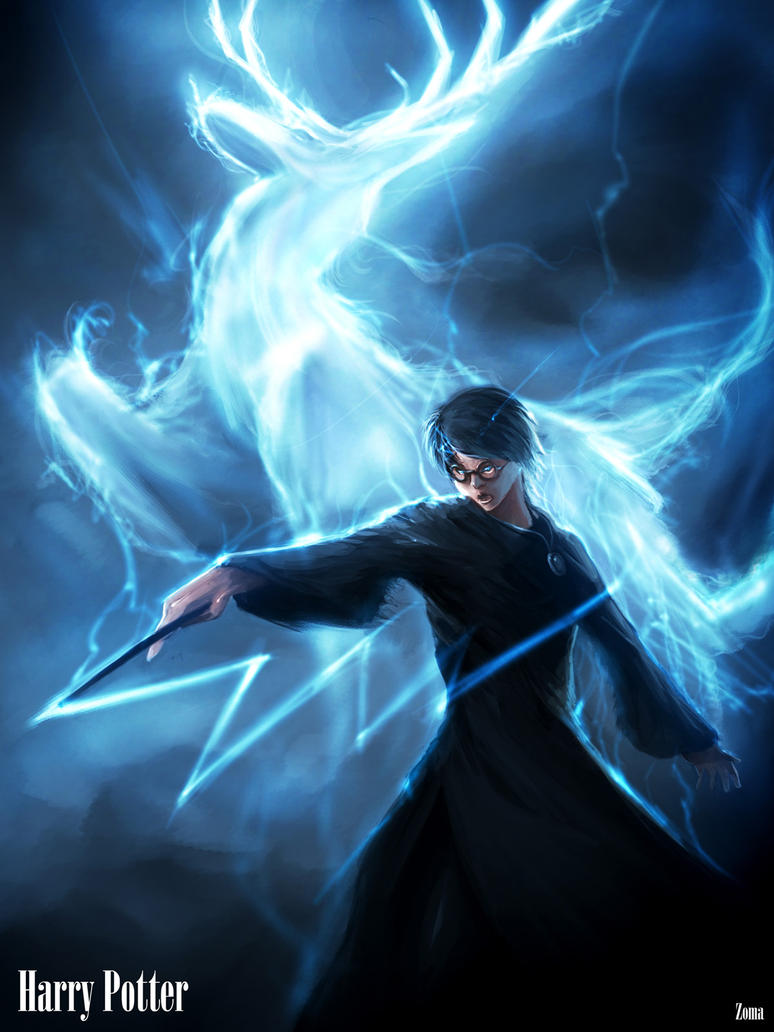 Harry Potter:Expecto Patronum by phamoz