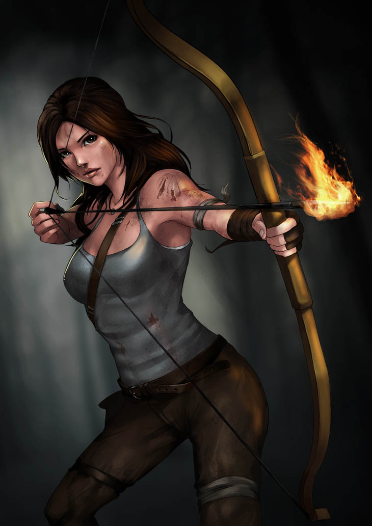 LARA CROFT 2013 by phamoz