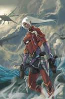 Xenoblade Chronicles X - Elma by phamoz