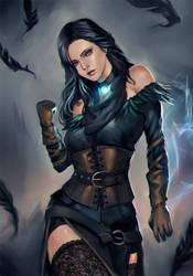 Witcher 3 - Yennefer Alternative Costume by phamoz