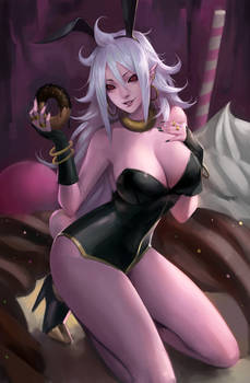 DBFZ - Android 21 Bunny girl ver.