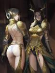 Kulve Taroth Armor Girls