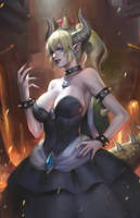 Bowsette by phamoz