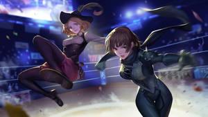 Showtime! Makoto and Haru