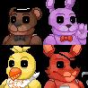 Fnaf Icons by ChuraGhost