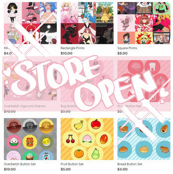 Online Store OPEN by ChuraGhost