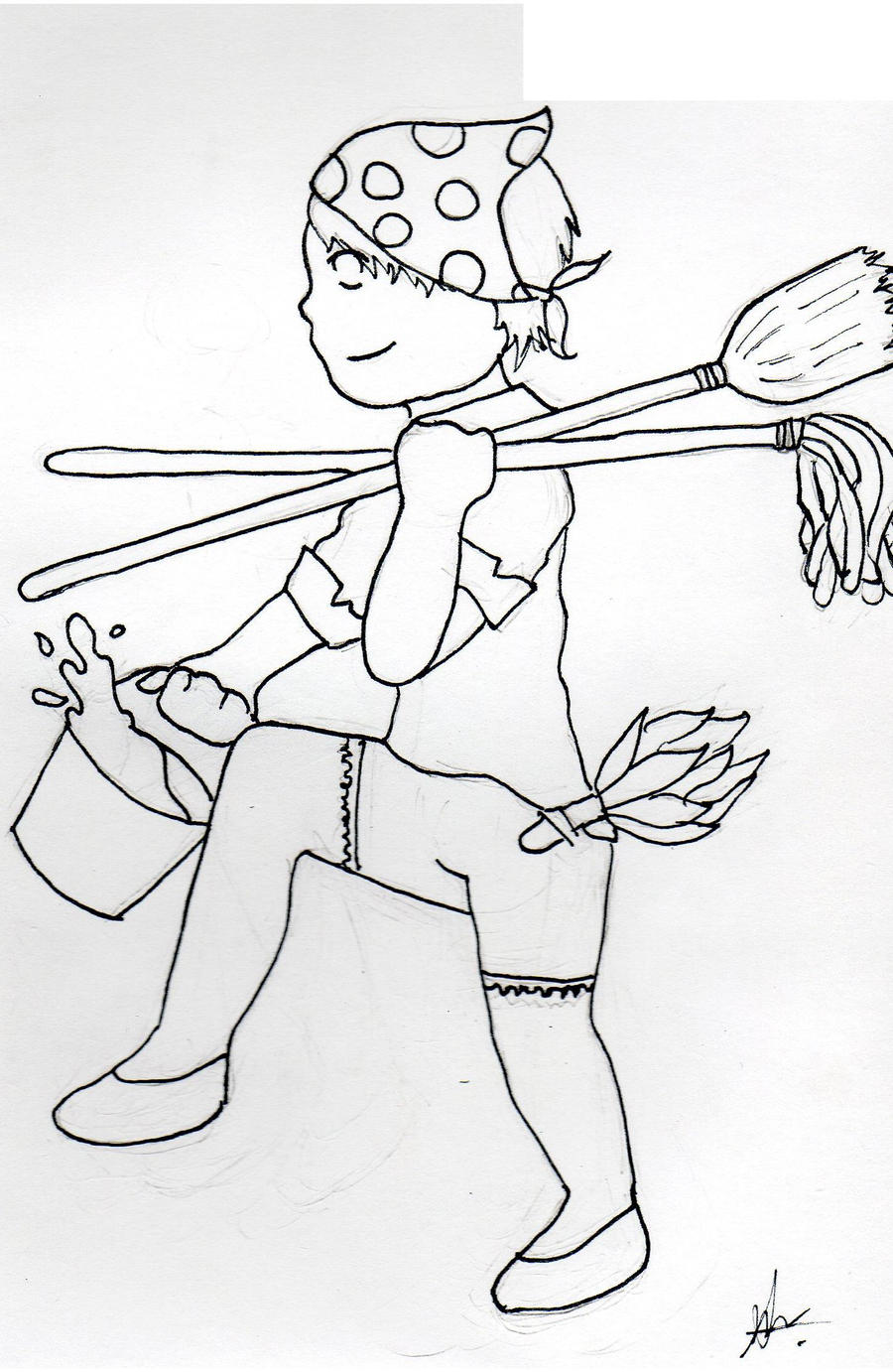 Royalty-Free House Cleaning Stock Clipart  Cartoons | Page 1