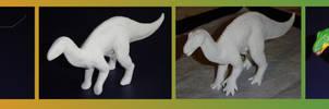 Iguanodon  -different steps